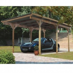 garagen carports mein gartenhaus. Black Bedroom Furniture Sets. Home Design Ideas