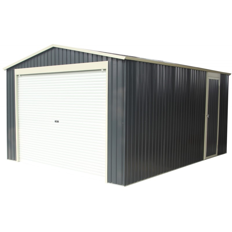garage aus metall anthrazit 15 14m sektionaltor verankerungskit x metal. Black Bedroom Furniture Sets. Home Design Ideas