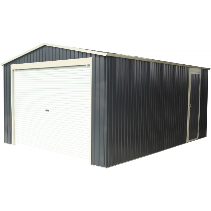 garage aus metall anthrazit 17 31m sektionaltor verankerungskit x metal. Black Bedroom Furniture Sets. Home Design Ideas