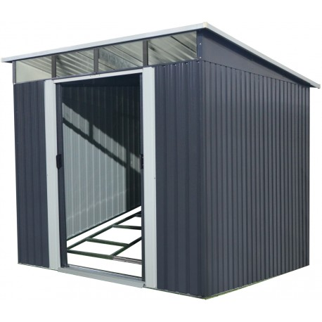 gartenhaus aus metall 5 64m skylight anthrazit. Black Bedroom Furniture Sets. Home Design Ideas